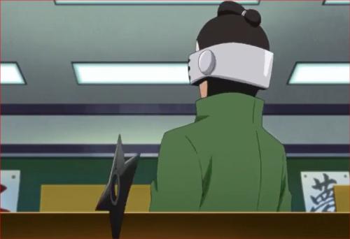BORUTO38話、サラダ、バランスの悪い手裏剣、シノ直撃?