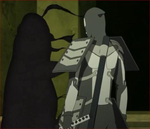 BORUTO39話、ログの鎧喰いの餌食になった大蛇丸