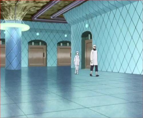 BORUTO39話、大蛇丸の部屋へ向かうミツキと鬼灯水月