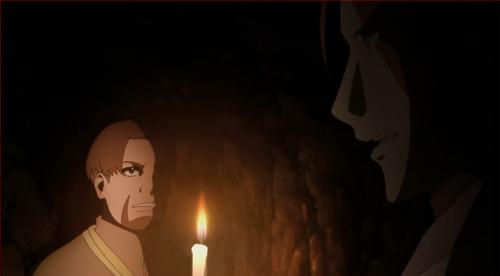 アニメBORUTO40話、裏切り者依織とヒダリの密会