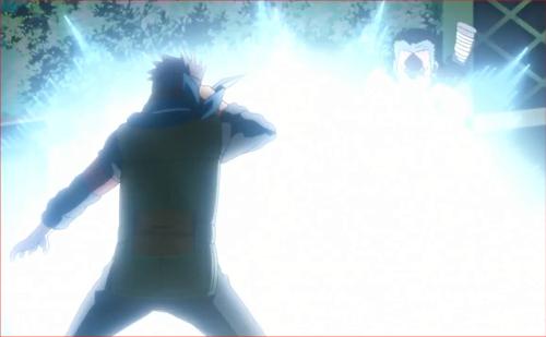 アニメBORUTO40話、閃光と共に消え去る葦丸