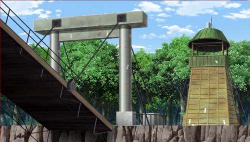BORUTO40話、みどりの畔跳ね上げ橋