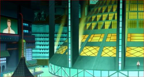 アニメBORUTO第46話、デモに参加した里人に語り掛けるナルト