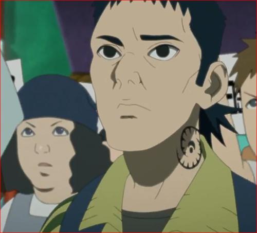 アニメBORUTO第46話、デモ扇動者の男性、だれって、そりゃぁ~、誰だっけ?