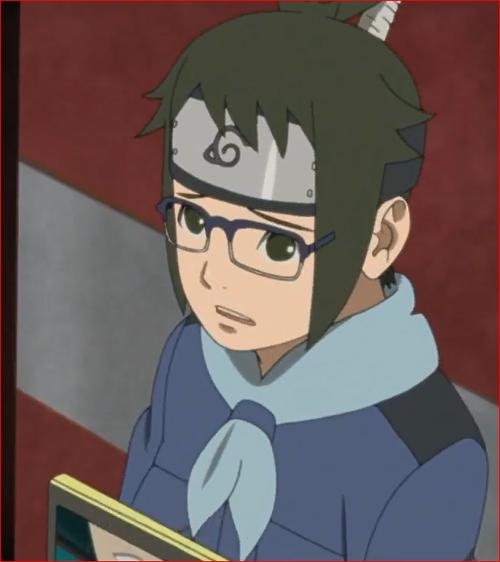 アニメBORUTO第46話、デンキ、今の僕にはこんなことしかできませんが…