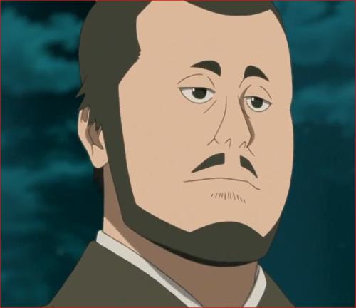 アニメBORUTO第46話、デンキの父、デンキ、よくやっているようだな