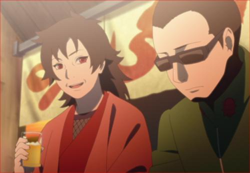 アニメBORUTO第5話、紅とシノ先生