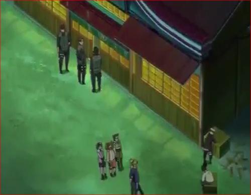 アニメBORUTO44話、事件現場の質屋に戻ったテマリたち