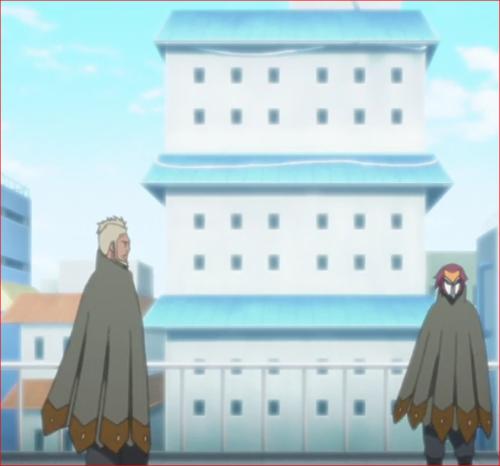 アニメBORUTO45話、ゲッコウ、リョウギ、昔のことでも思い出していたか?