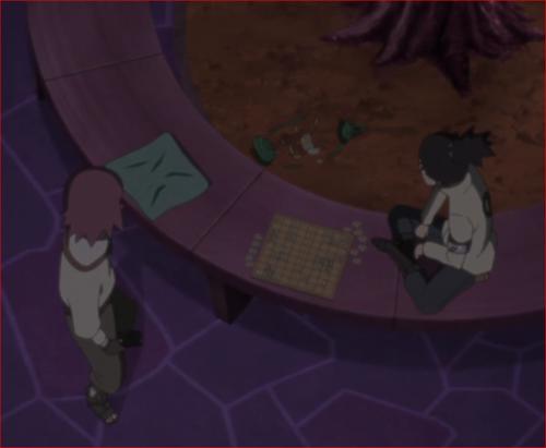 アニメBORUTO45話、リョウギ、これはまだ足がついていない筈!