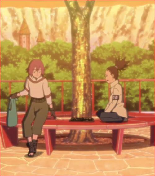アニメBORUTO45話、リョウギ、ボクを待っていたの?