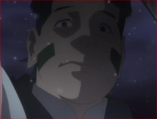 アニメBORUTO45話、リョウギを襲う殺人者、この目は幻か催眠術にかかってるでしょ?