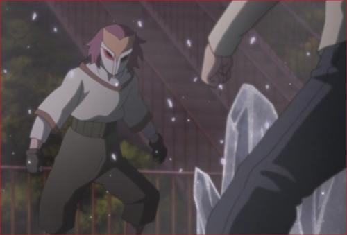 アニメBORUTO45話、リョウギ、ボクは白夜団としての戦いに行くんだ!