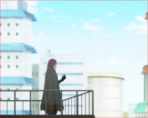 アニメBORUTO45話、物思いにふけるリョウギ