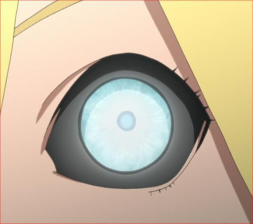 アニメBORUTO、ボルトの右目、淨眼