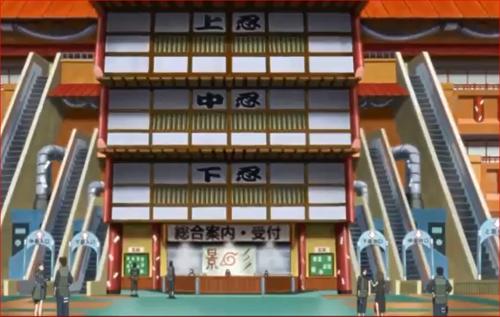 アニメBORUTO48話、忍任務受付所