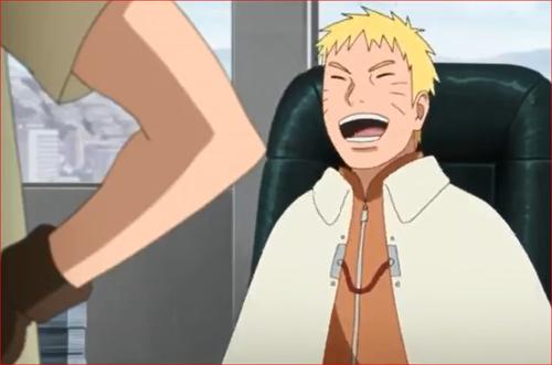 アニメBORUTO48話、見た目だけじゃなく、中身までシカマルに似てきたと笑うナルト