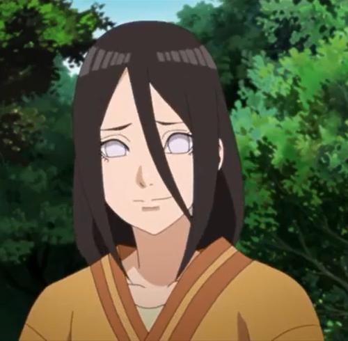 アニメBORUTO49話、ホッとした顔のハナビ