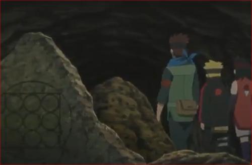 アニメBORUTO51話、大筒木の遺跡に共通する紋様2