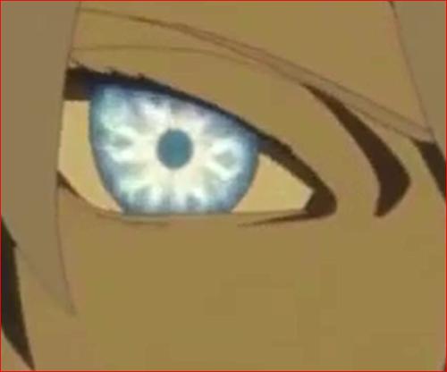 アニメNARUTO、大筒木トネリの転生眼