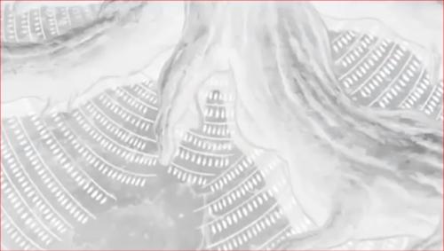 アニメNARUTO、神樹の下に格納される白ゼツ