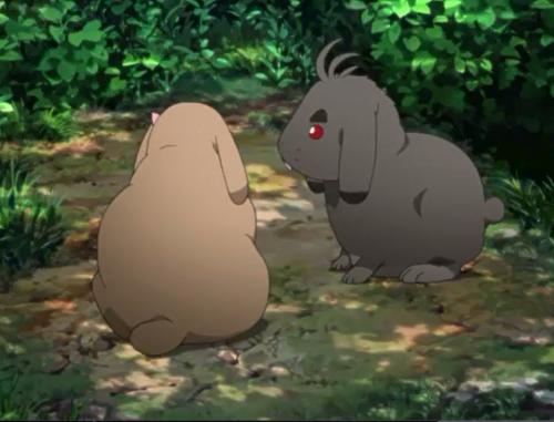 アニメBORUTO49話、ウサギもどき発見!