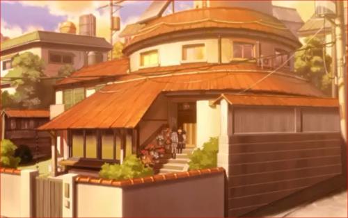 アニメBORUTO53話、うずまき邸