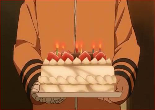 アニメBORUTO53話、さぁ、ケーキができたぞ~