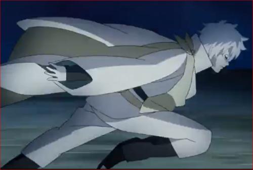アニメBORUTO53話、ウラシキに戦いを挑むトネリ