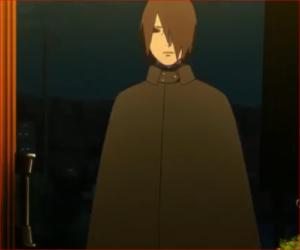 アニメBORUTO53話、ナルトの息子か、名は?