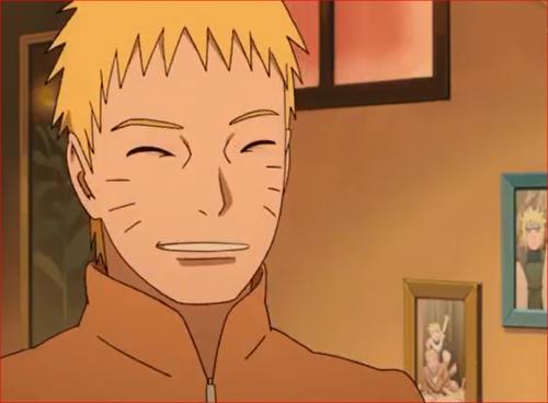 アニメBORUTO53話、ナルトの笑顔