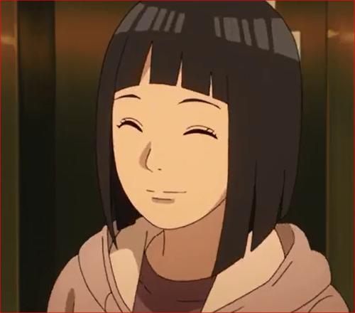 アニメBORUTO53話、ヒナタの笑顔
