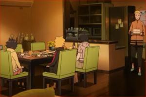 アニメBORUTO53話、ヒマワリの誕生日会の始まりだってばよ