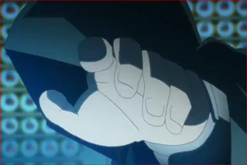 アニメBORUTO53話、フードを深くかぶった謎の忍?
