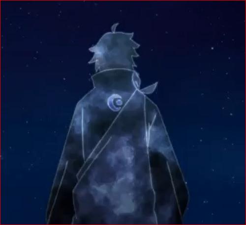 アニメBORUTO53話、時間凍結されたトネリ