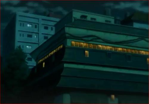 アニメBORUTO54話、うちは家外観