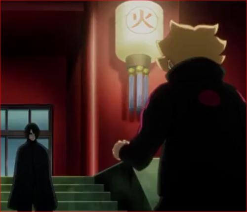 アニメBORUTO54話、なんだ、その程度で粋がっていたのか?