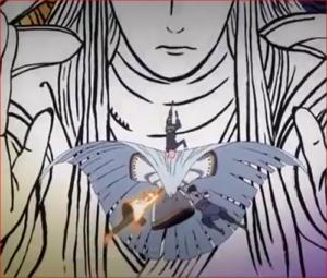 アニメBORUTO54話、オレたちは、あの忍界大戦で、多くの犠牲と引き換えにカグヤを封じ込めた