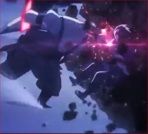 アニメBORUTO54話、チャクラ等の攻撃で押しまくるキンシキ