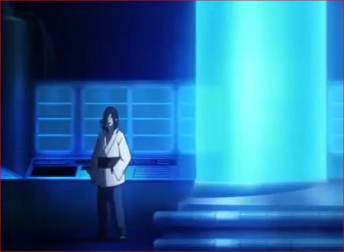 アニメBORUTO54話、ミツキに話しかける大蛇丸