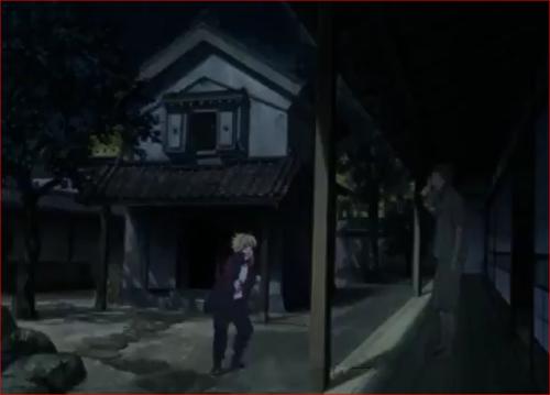 アニメBORUTO54話、夜中に木ノ葉丸の家を訪ねるボルト