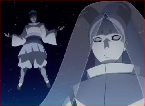 アニメBORUTO55話、神樹のチャクラが分散している