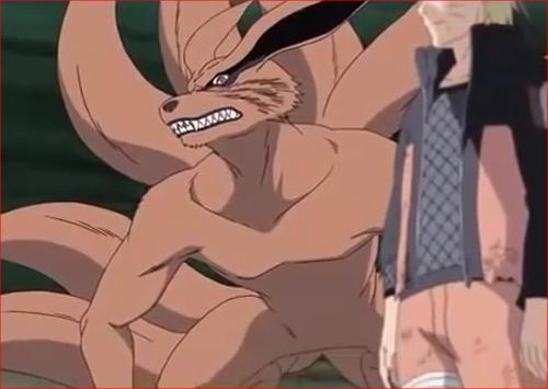 アニメNARUTO、九尾・九喇嘛1