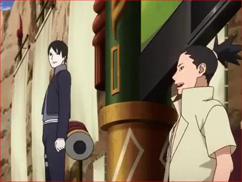 アニメBORUTO56話、オマエの説明、それ自体が罠で…