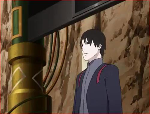 アニメBORUTO56話、一次試験・担当官はサイ