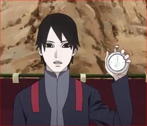 アニメBORUTO56話、今から一時間以内に…