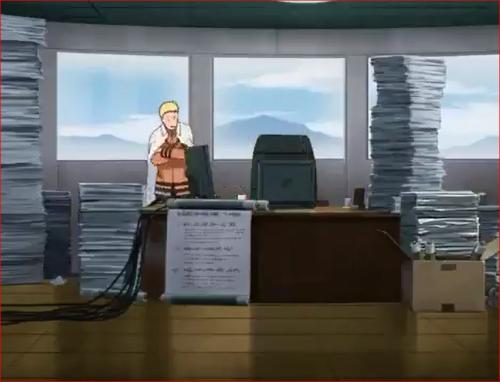 アニメBORUTO57話、ボルトの試験結果を気にするナルト