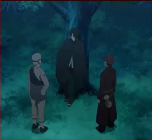 アニメBORUTO57話、恐らく、大筒木の一族だろう