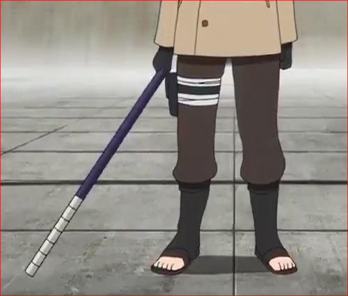 アニメBORUTO58話、アラヤの武器