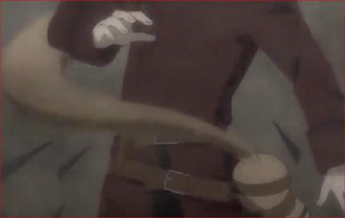 アニメBORUTO59話、絶対防御の砂で砂鉄の槍を防ぐ我愛羅